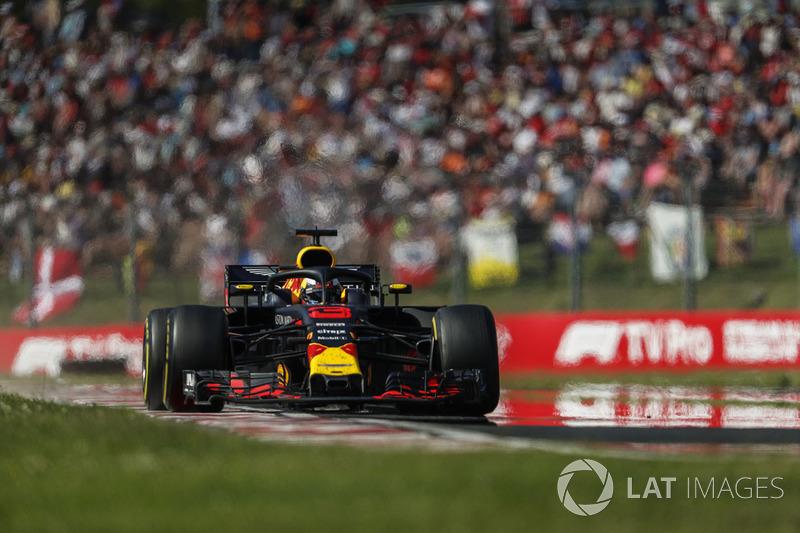 GP de Hungría: Daniel Ricciardo (4º en carrera)