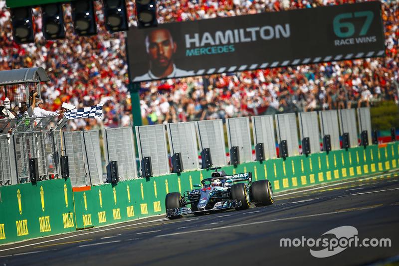 Hongrie - Vainqueur : Lewis Hamilton