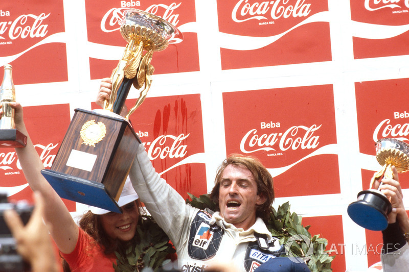 Podyum: Yarış galibi Jacques Laffite, Ligier