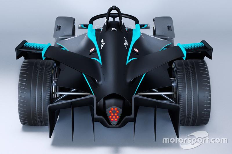 عرض تقديمي لسيارات فورمولا إي 2018/2019