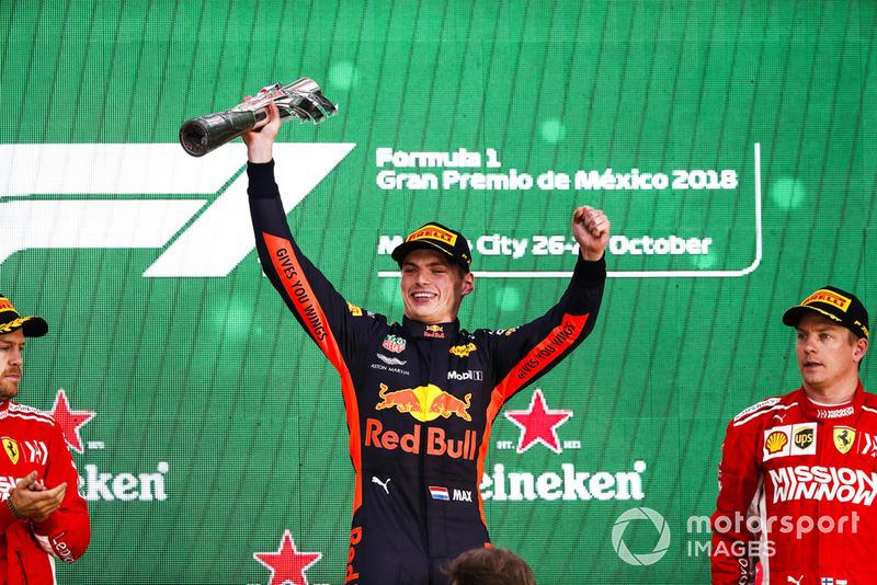 20. 2018, Grand Prix van Mexico (eerste)