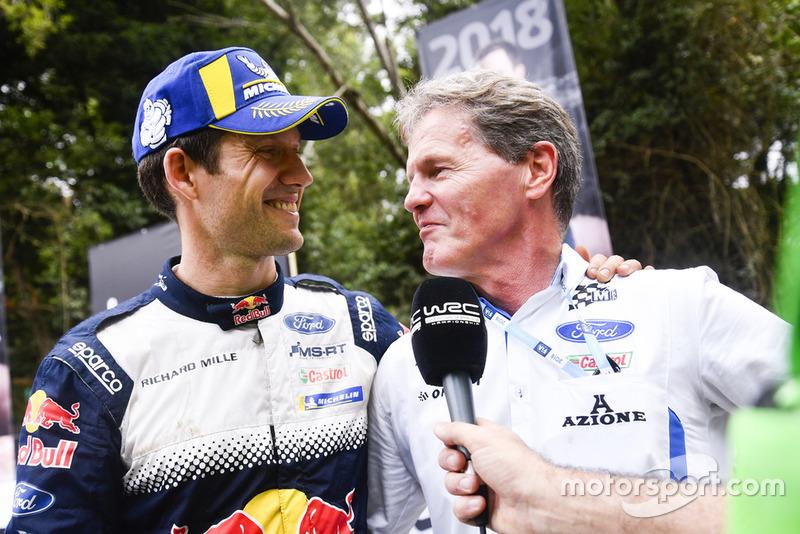2018 WRC şampiyonu Sébastien Ogier, M-Sport Ford, Malcolm Wilson