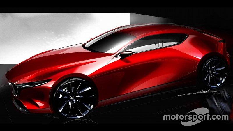 Концепт хот-хетч Mazda3 2019 року
