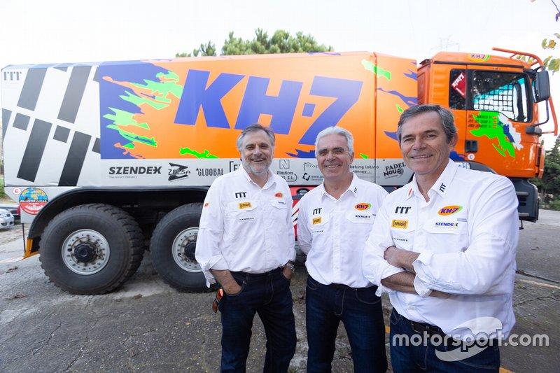 #521 Xavi Domènech, José Luis Criado, Jordi Juvanteny, KH-7 Epsilon Team