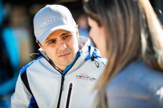 Феліпе Масса, Venturi Формула E, розмовляє із пресою.