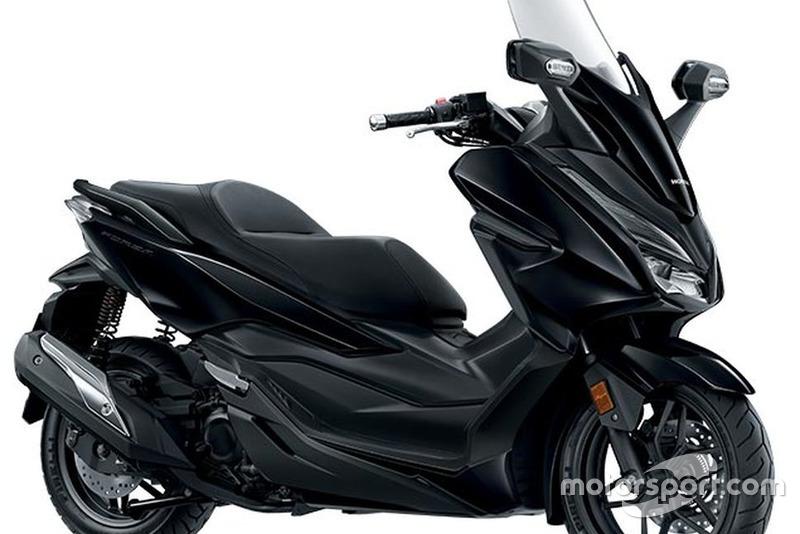 Honda Forza-Mat Gunpowder Black Metallic