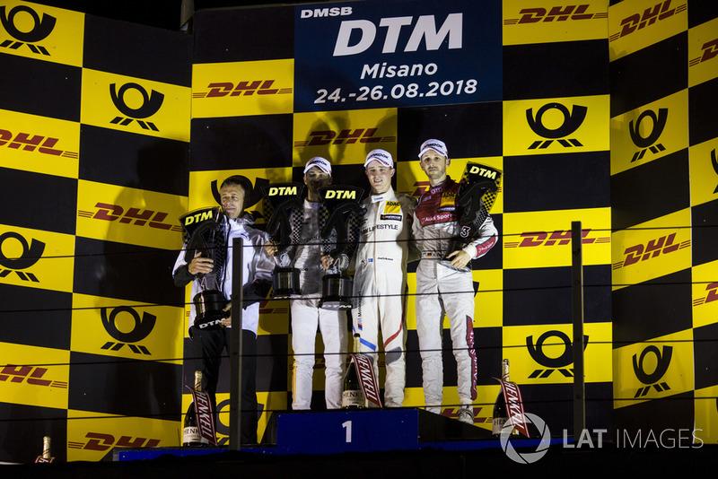 Це дозволило Юелю Ерікссону здобути першу перемогу в DTM. А Дзанарді фінішував п'ятим!