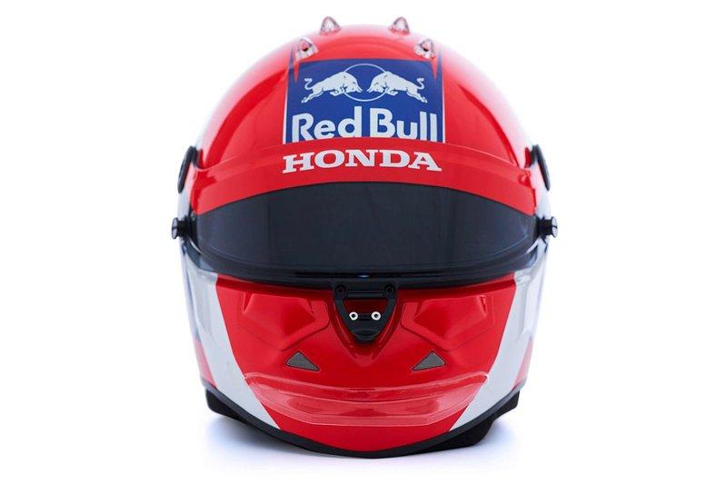 Helmet of Daniil Kvyat, Scuderia Toro Rosso