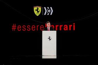 Louis Camilleri, PDG Ferrari