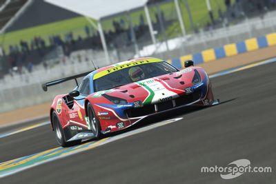 Anuncio Ferrari 24h LE Mans Virtual
