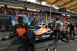 The car of Fernando Alonso, McLaren MCL32