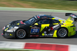 #29 Forch Racing powered by Olimp, Porsche 991 GT3 R: Robert Lukas, Marcin Jedlinski, Patrick Eisemann