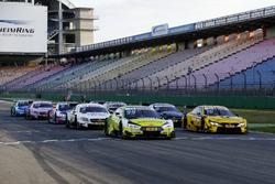 Übungsstarts der DTM-Autos 2017