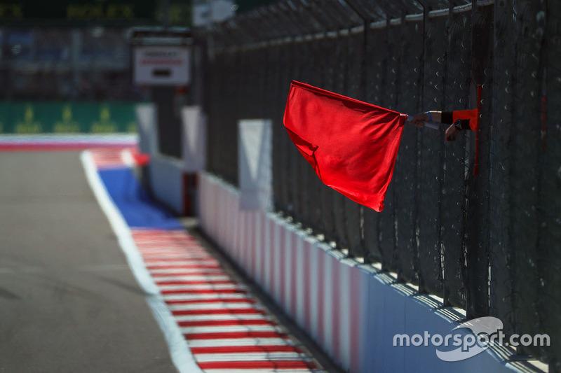 Красные флаги в первой тренировке