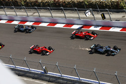 Валттери Боттас, Mercedes AMG F1 W08, Себастьян Феттель, Ferrari SF70H, Кими Райкконен, Ferrari SF70H, Льюис Хэмилтон, Mercedes AMG F1 W08, Даниэль Риккардо, Red Bull Racing RB13