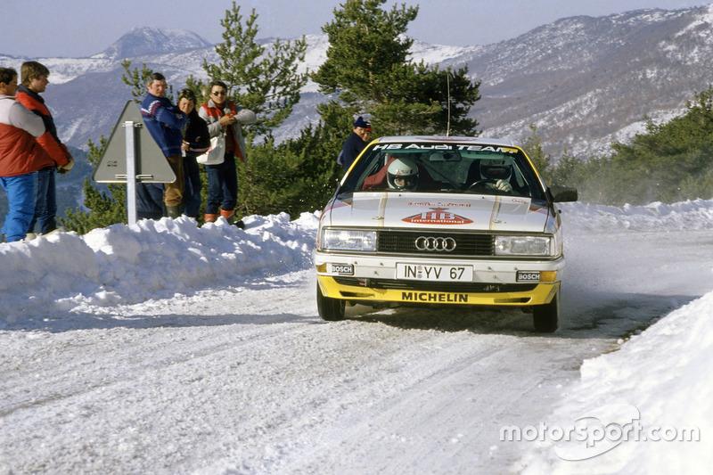 Walter Rohrl, Christian Geistdörfer, Audi 200 Quattro