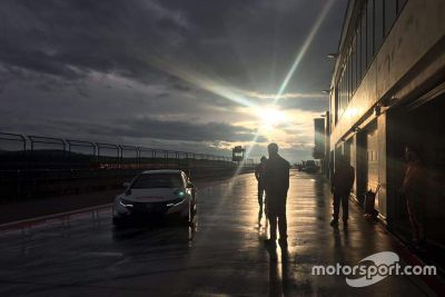 Honda-Test in Aragon, Januar