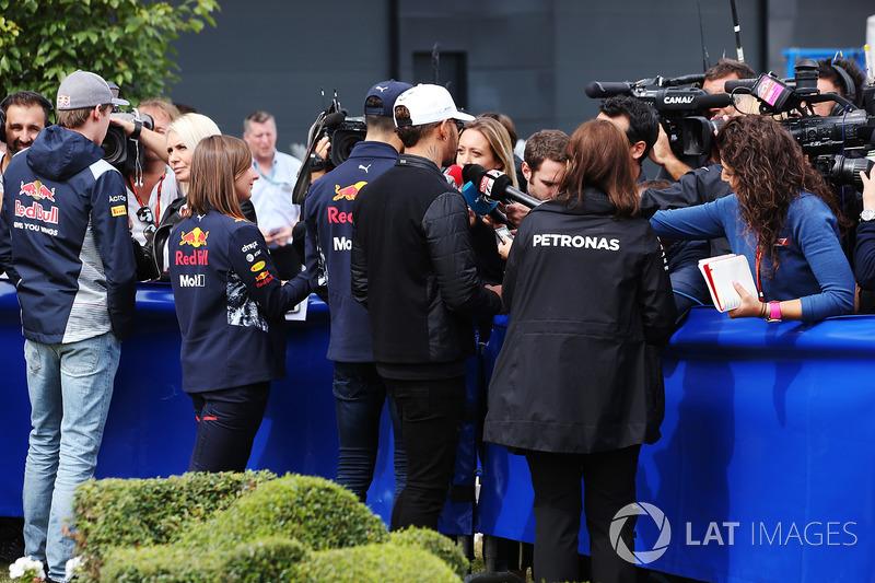 Данііл Квят, Scuderia Toro Rosso, Льюіс Хемілтон, Mercedes AMG F1
