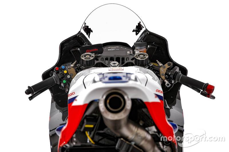 La moto de Danilo Petrucci, Octo Pramac Racing