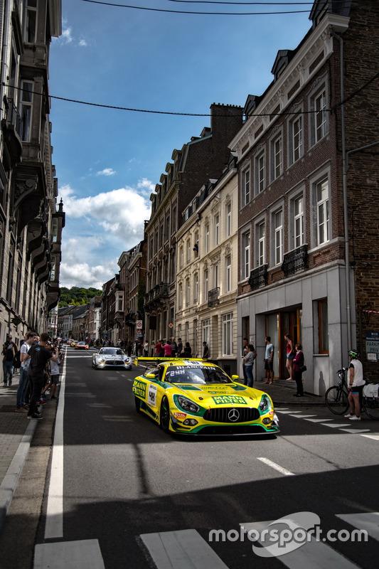 #48 MANN-FILTER Team HTP Motorsport Mercedes-AMG GT3: Kenneth Heyer, Indy Dontje, Patrick Assenheime