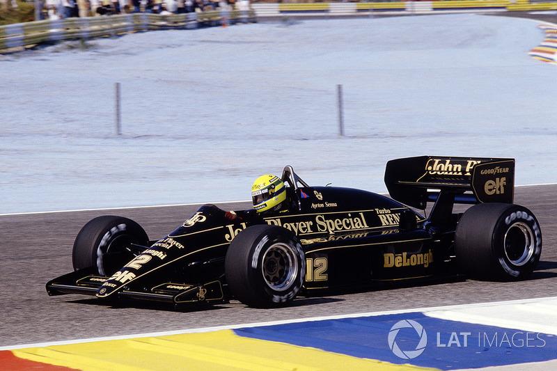17º Ayrton Senna, Lotus 98T, Le Castellet 1986. Tiempo: 1:06.526