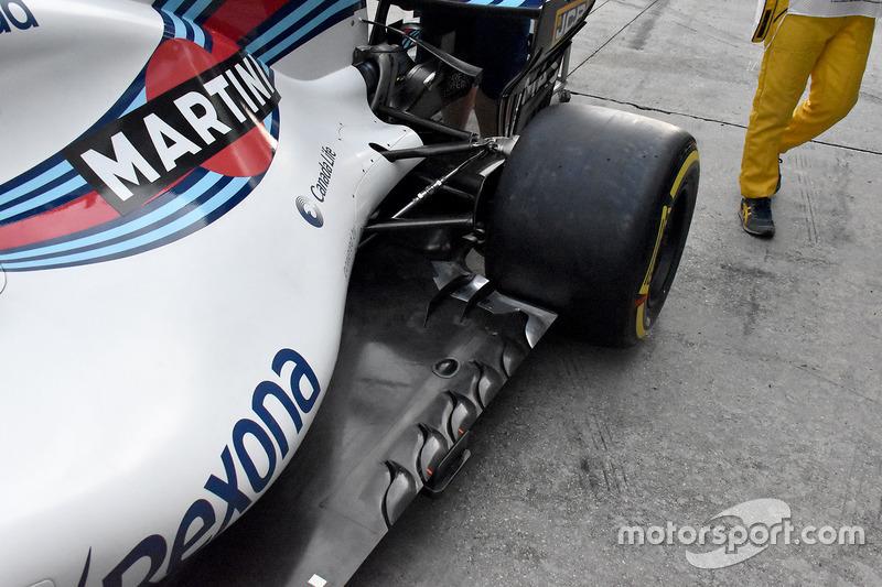 Williams FW40: Unterboden