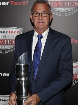 PC kampioen Brent O'Neill