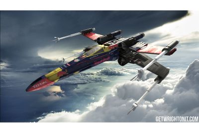 Concepts X-Wing Star Wars F1