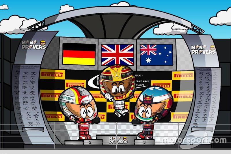 El GP de Bélgica 2017 de F1 según Los MiniDrivers