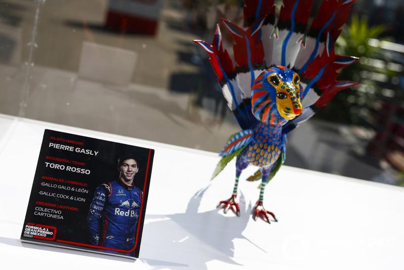 Гран Прі Мексики: статуетка П'єра Гаслі, Toro Rosso