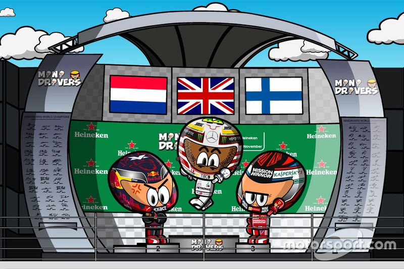 El GP de Brasil de Fórmula 1, por Minidrivers