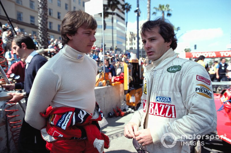At Ferrari, Villeneuve regarded Pironi as a friend until the Imola fallout.