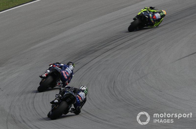 Valentino Rossi, Yamaha Factory Racing, Jonas Folger, Yamaha Factory Racing, Maverick Vinales, Yamaha Factory Racing