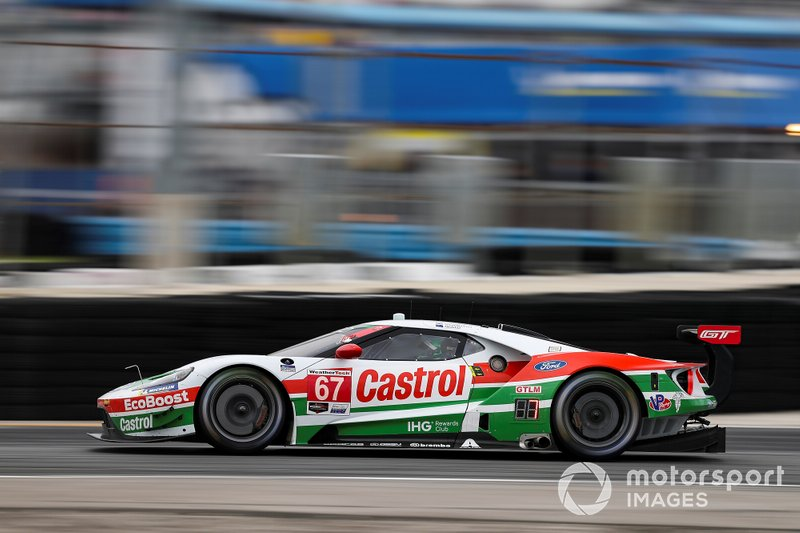 4. #67 Ford Chip Ganassi Racing Ford GT, GTLM: Ryan Briscoe, Richard Westbrook, Scott Dixon