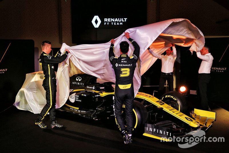Renault F1 Team R.S.19 unveil