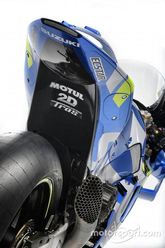 Team Suzuki MotoGP, Suzuki GSX-RR detalle