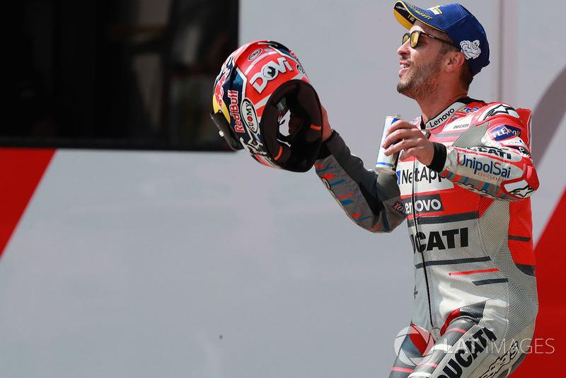 Ganador Andrea Dovizioso, Ducati Team