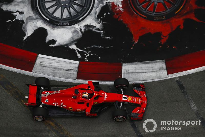 3: Себастьян Феттель, Ferrari SF71H