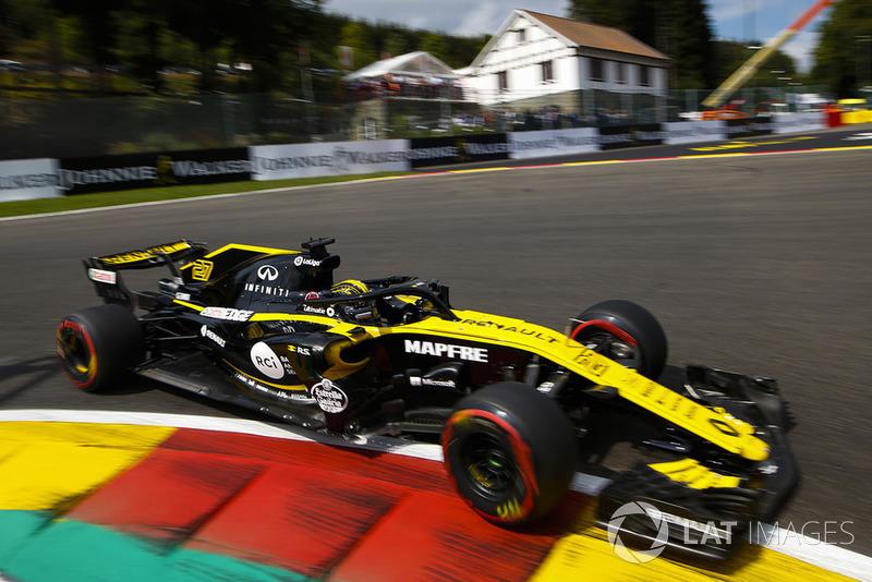 18. Нико Хюлькенберг, Renault Sport F1 Team RS18 – штраф за замену силовой установки