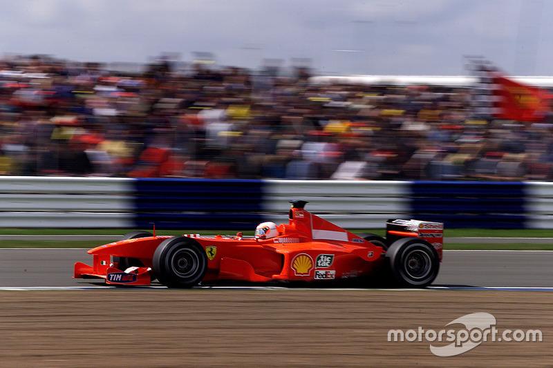Rubens Barrichello lors du GP de Grande-Bretagne