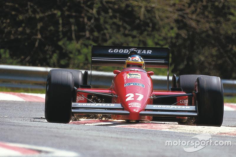Мікеле Альборето, Ferrari F187