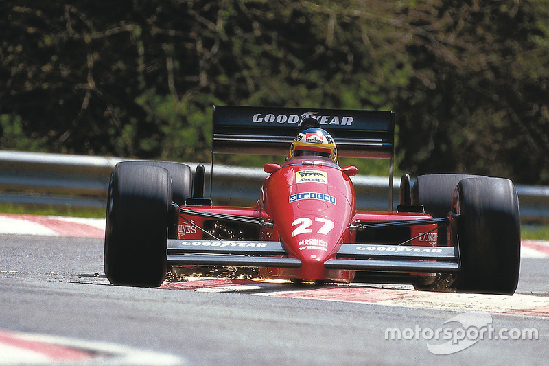 #27: Michele Alboreto, Ferrari F187
