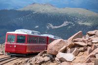 Bergbahn am Pikes Peak