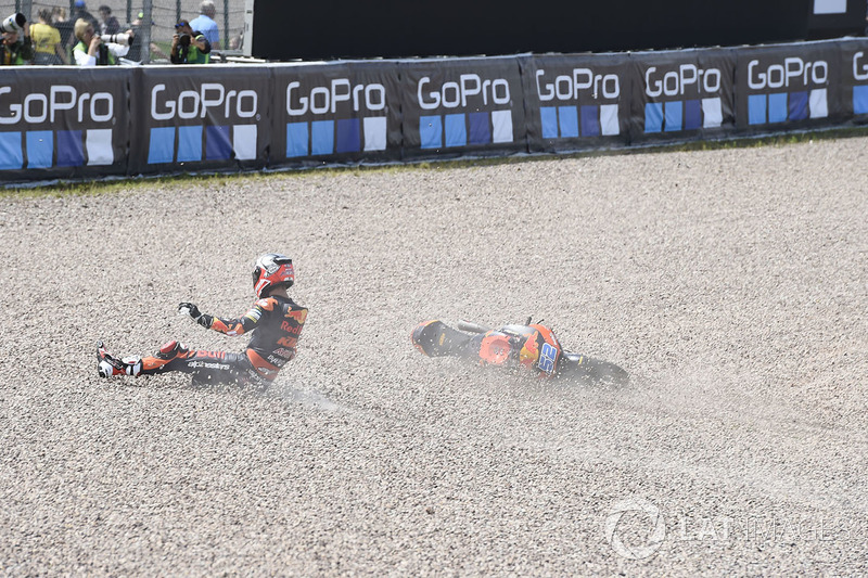 Danny Kent, Red Bull KTM Ajo crash