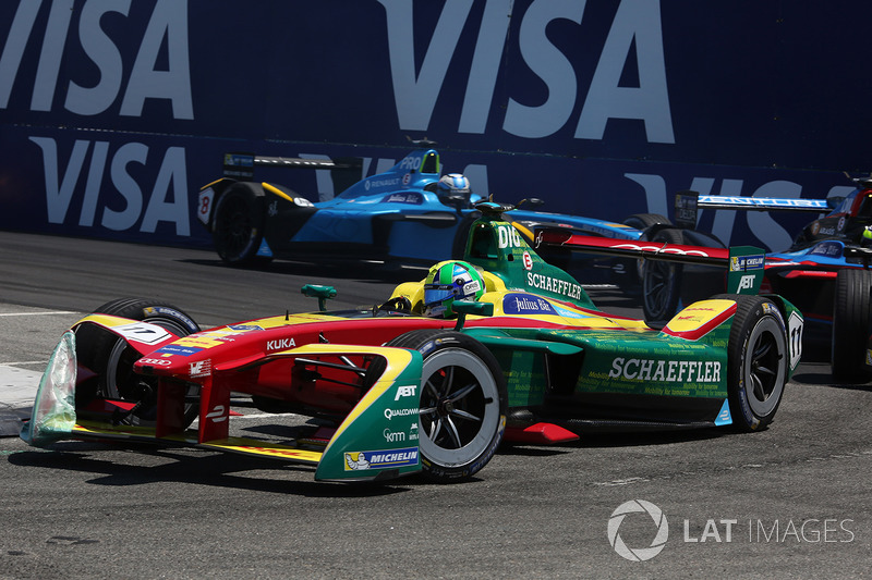 Lucas di Grassi, ABT Schaeffler Audi Sport y Nicolas Prost, Renault e.Dams