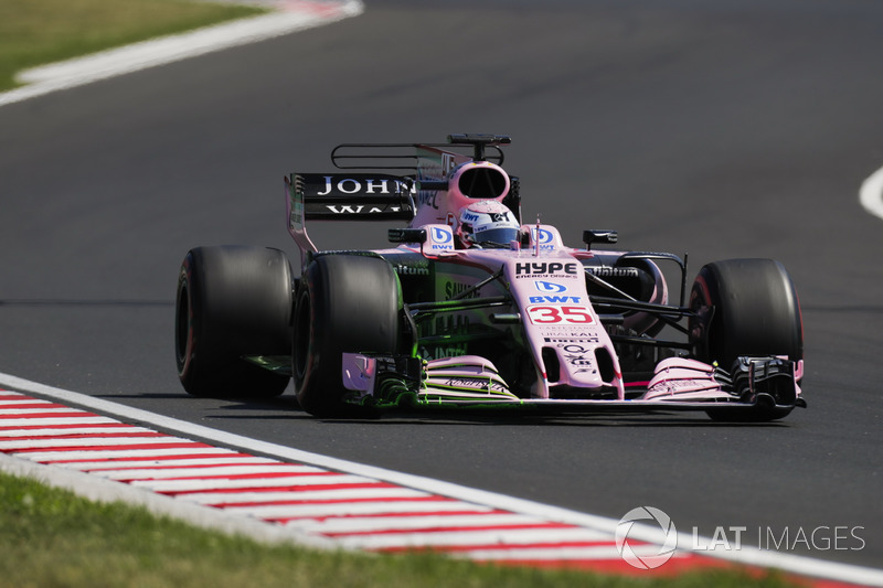 Лукас Ауер, Sahara Force India F1 VJM10