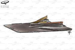 DUPLICATE: Ferrari F2004 splitter, ballast mounted inside keel