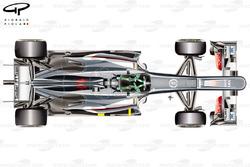 Sauber C32 top view, Hungarian GP