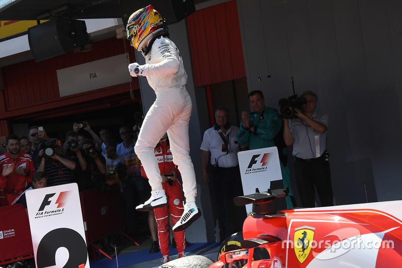 Гран Прі Іспанії. Переможець Льюіс Хемілтон, Mercedes AMG F1