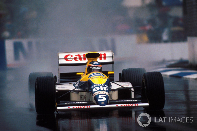 Thierry Boutsen, Williams FW13